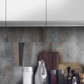Art Kitchen by Instabilelab:  highly performing wallpapers even for the kitchen backsplash